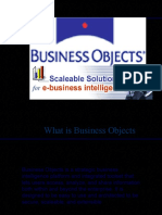 Business Objects Design Architecture