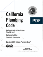 Title 24 Part 5 Slice 1 2007 California Plumbing Code