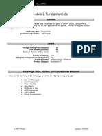 BB Fact Sheet Java 2 Fundamentals