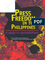 Press Freedom in the Philippines - A Study in Contradictions (2004)
