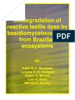 Biodegradation of Texile Azo Dyes - Fungi