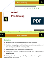 Ch- 04 (Brand Positioning)