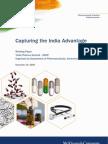 Capturing the India Advantage