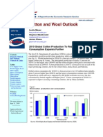 Cotton and Wool Outlook