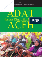 Adat Dalam Dinamika Politik Aceh
