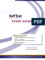 Self Test Study Guide Sample