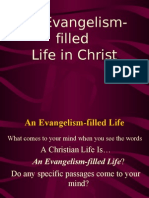 An Evangelism-Filled Life in Christ