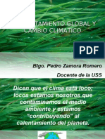 Calentamiento Global - Cambio Climatico