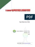 Timpanosklerosis Files of Drsmed