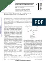 Nitroalkanes as Nucleophiles 2002-11-13