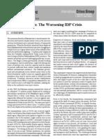 B111 Pakistan - The Worsening IDP Crisis
