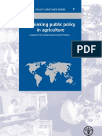 Rethinking Public Policy in Agriculture 2007