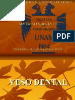 Yesos Dentales