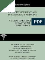 Orthopedic Essentials in Emergency Medicine