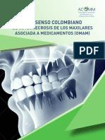 Consenso osteonecrosis maxilar  ACOMM