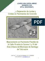 Sellado y Reparacion de Juntas y Grietas en Pavimentos de Concreto Vr02