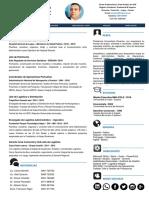 CV Econ. Jose Antonio Pino - Formato Moderno PDF - 2019
