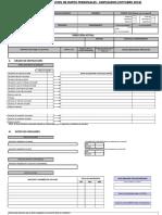 FICHA ACTUALIZACION DE DATOS (OCT- 2019) - Personal Empleado