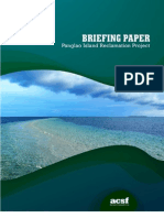 Briefing Paper - Panglao Reclamation