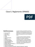 Clase 6 Reglamento OPAMSS_