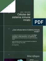 """Equipo 2 """"Células Sistema Inmune Innato"""" FTP02A 20-2"""
