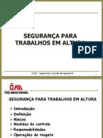 TREINAMENTO TRABALHO EM ALTURA