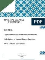 material balance equations presentation