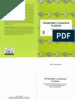 Comprender y comunicar la ciencia - Jose A. Lopez subrayar.pdf