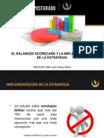 El BSC y la implementación de la estrategia
