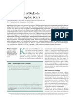 Management of Keloids