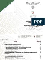 ESTADISTICAS FEMINICIDIOS MEXICO 2019