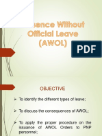 AWOL lecture