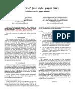 FORMAT PAPER PRAKTIKUM ELEKTRONIKA 1