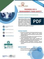 LEMBAGA TRAINING ISO 9001:2015, ISO 14001 DAN ISO 22000, HACCP, FOODSAFETY, MANAJEMEN KEAMANAN PANGAN | WA. 081293111959