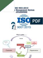 Awareness ISO 90012015
