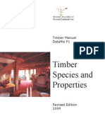 Timber Species and Properties