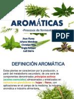 Plantas Aromáticas y Procesos de Fermentación