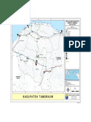 Peta Kab Tambrauw 2011