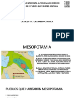 EXPOSICION ARQUITECTURA MESOPOTAMICA