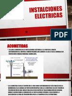INSTACIONES ELECTRICAS