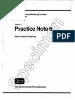 B3 Tendering Rules PN6