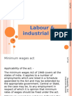 Labour & Industrial Acts