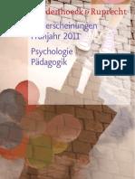Vorschau 1 / 2011 Psychologie_Paedagogik