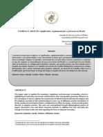 FAMÍLIA E ADOÇÃO - significados, regulamentação e processos no Brasil