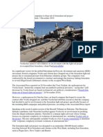 2010 Boycott Roundup, Report of The Electronic Intifada, 3 December