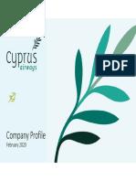 Παρουσίαση Cyprus Airways