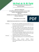 005.03 SK dan lampiran PANDUAN PASIEN DENGAN ALAT PENGIKAT (RESTRAINT)