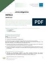 Pj Obligatoires Hotels 2019
