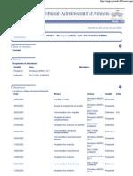 Tribunal administratif - Dossier n° 0500814 - 19 janvier 2006