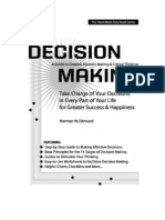 Decision Making Booklet